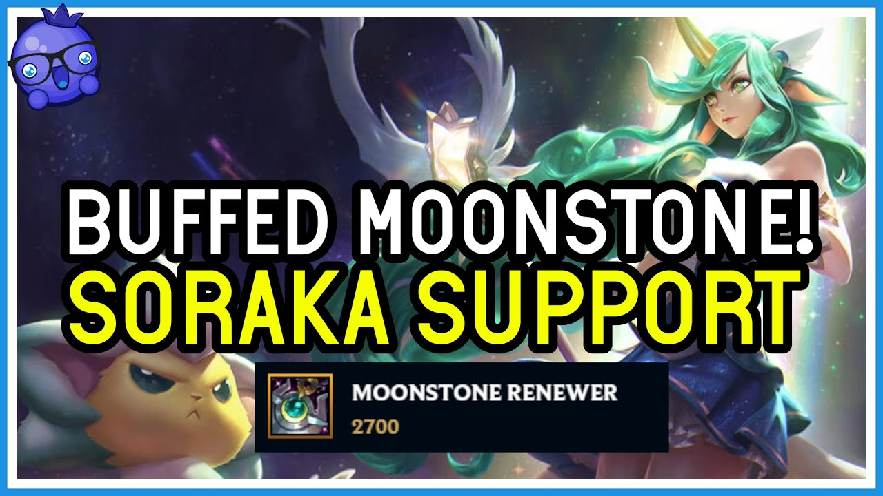 Bizzleberry - Moonstone Renewer BUFFED AGAIN! Is this item finally worth it? - League of Legends