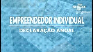 DECLARAÇÃO ANUAL DO MICROEMPREENDEDOR INDIVIDUAL (MEI) - SEBRAE/SC