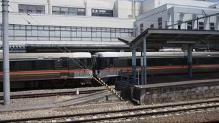 【HD】383系篠ノ井線特急しなの7号長野行(松本発車) Series 383 Shinonoi Line LTD.EXP SHINANO No.7 for Nagano at Matsumoto
