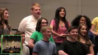 8th Grade Choir singing Little Einsteins theme song