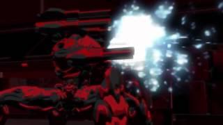 RWBY: Blake and Adam vs. Atlesian Knight-130s (60FPS)