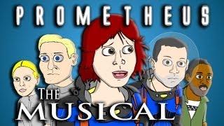 ♪ PROMETHEUS THE MUSICAL - Animated Parody