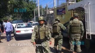 Asesinan a balazos a cuatro hombres en un taller mecánico en la colonia Progreso