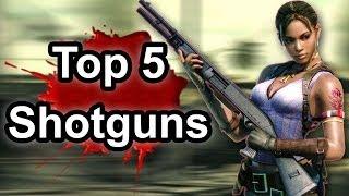 Top 5 - Shotguns in gaming