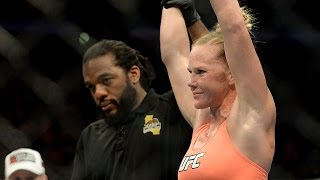 Holly Holm on her UFC debut victory