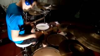 "Danny, Champion of Nothing - ""Canaries In A Mine"" drum play through"