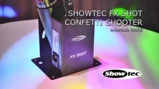 Showtec FX Shot Confetti. ordercode: 60908