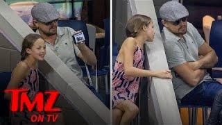 Leonardo Dicaprio Takes a Selfie with a Fan at U.S. Open | TMZ TV
