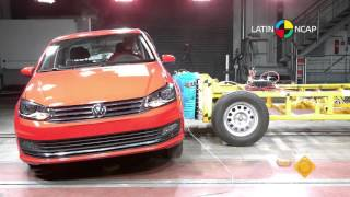 Crash test com Volkswagen Vento