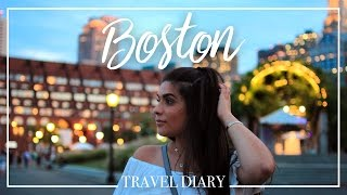 TRAVEL DIARY de BOSTON