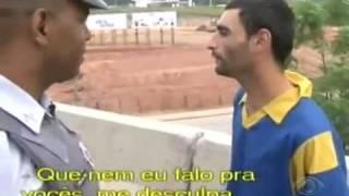 Policia 24 Horas - Loucoanel: Não é usuário, só fuma crack !