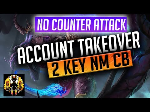 RAID: Shadow Legends | ACCOUNT TAKEOVER | How to 2 Key NM CB without Counter Attack!