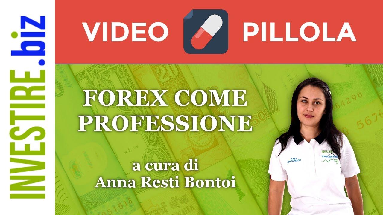 """Video Pillola """"Forex come Professione"""" del 03/01/2017"""