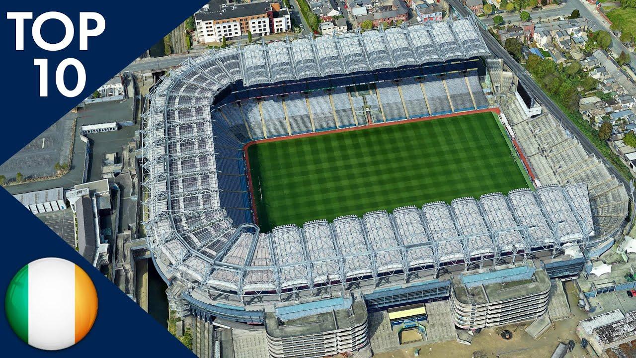 Top 10 Biggest Stadiums in Ireland