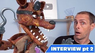 Real fnaf Foxy Interview - Part 2 - shocking confession!