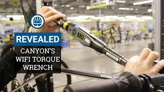 Is This The World's Coolest Bike Tool? - Canyon's WiFi Torque Wrench