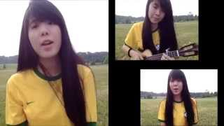 Ukulele Cover Shakira-La La La (Dare)  2014 FIFA world cup theme song 巴西世界杯主题曲