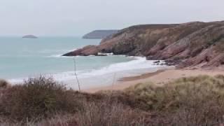 Cette plage isolée