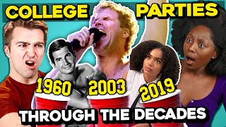 What Do College Kids Think Of College Parties Over The Last 50 Years In Film & TV?