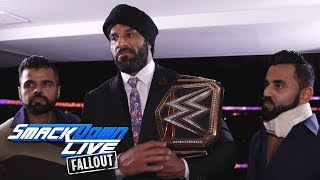 Jinder Mahal reacts to Cena vs. Nakamura: SmackDown LIVE Fallout, Aug. 1, 2017
