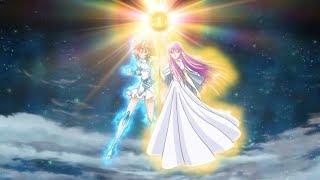 Shoko e Saori vs Phono do assassinato CDZ Saintia sho legendado