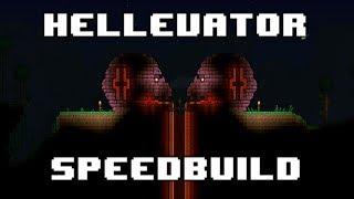[SPEEDBUILD] - Terraria HELLEVATOR!