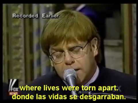 Please En Espanol de Elton John Letra y Video