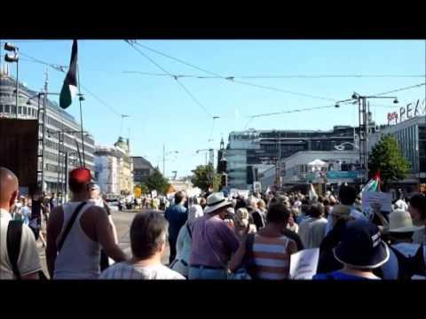 "Näpit Irti Gazasta! Pt. 3"" Mielenosoitus / ""Hands off Gaza! Pt. 3"" Demonstratio"