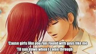Nightcore (lyrics) ~ Girls like you (Maroon 5)