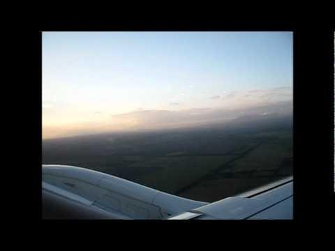 Taca Airlines E-190 takeoff Managua, NI