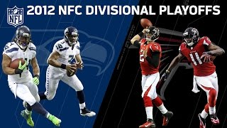 2012 Divisional Round: Falcons vs. Seahawks   NFL Full Game