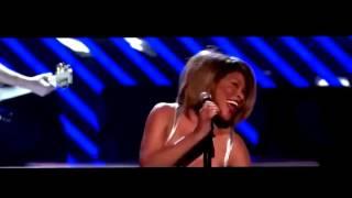 Tina Turner e Beyoncé. Ao vivo live
