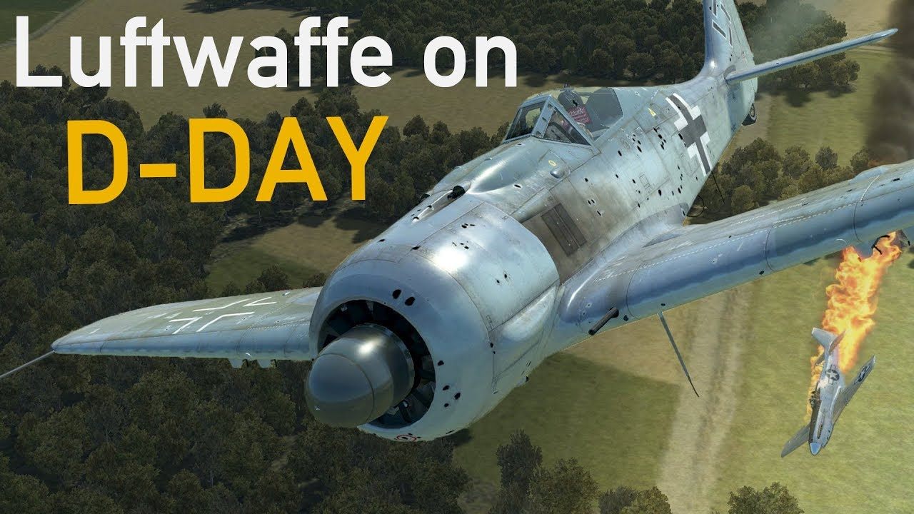 Luftwaffe on D-Day - In Their Own Words