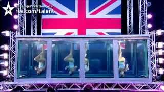 #7 LIVE FINAL Aquabatique synchronized swimmers - Britain's Got Talent 2012 Final BGT 2012
