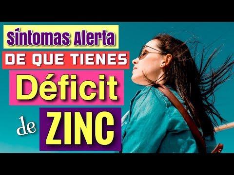SÍNTOMAS DE ALERTA DE QUE TIENES FALTA DE ZINC - VÍDEO