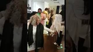 Granny's Audition of  Chaka demus and pliers bam bam
