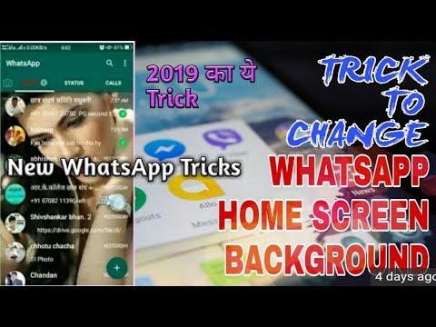 Change whatsapp home screen background download