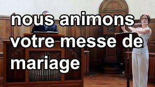 Gloire à Toi, Esprit de feu (Esprit Saint) / Musique et chant pour messe de mariage