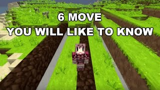 6 種你會想知道的 Minecraft 移動知識!