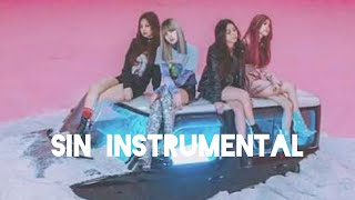 Black Pink whistle sin instrumental