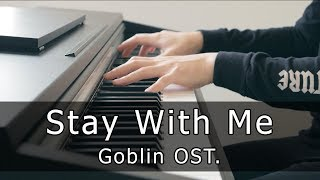 Chanyeol, Punch - Stay With Me, Goblin OST (Piano Cover by Riyandi Kusuma)