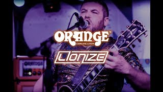 Nate and Hank of Lionize and Orange Amps.
