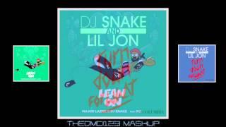 Major Lazer, DJ Snake & MØ vs DJ Snake & Lil Jon - Turn Down, Lean On (Mashup)