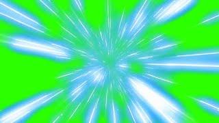 Viagem Espacial #1 - Hyperspace Travel #1 [Fundo Verde - Green Screen]