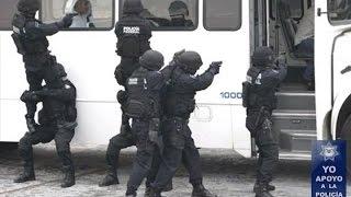 Entrenamiento de la Policía Federal 2016.