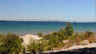 McGulpin Point Lighthouse - Mackinaw City, MI - YouTube