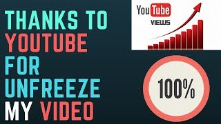 how to unfreeze youtube views 😊