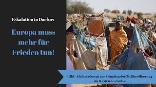 Der Konflikt in Darfur 14 Jahre nach Beginn