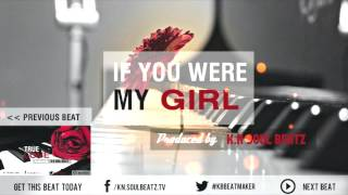 "(SOLD) R&B Love Instrumental Beat 2015 - ""If You Were My Girl"""