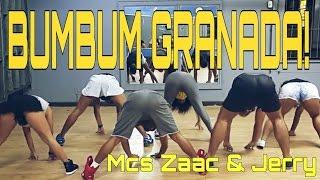 Bumbum Granada - Mcs Zaac e jerry COREOGRAFIA vai taca, taca, taca